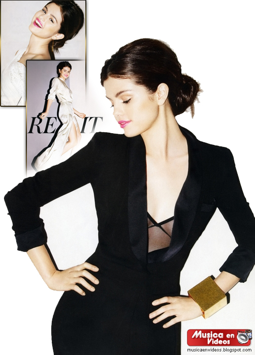 Selena Gómez en la Revista Instyle